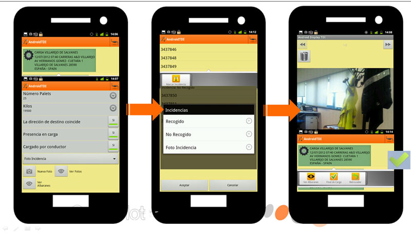 Mobile Office with Android APK - GesInFlot